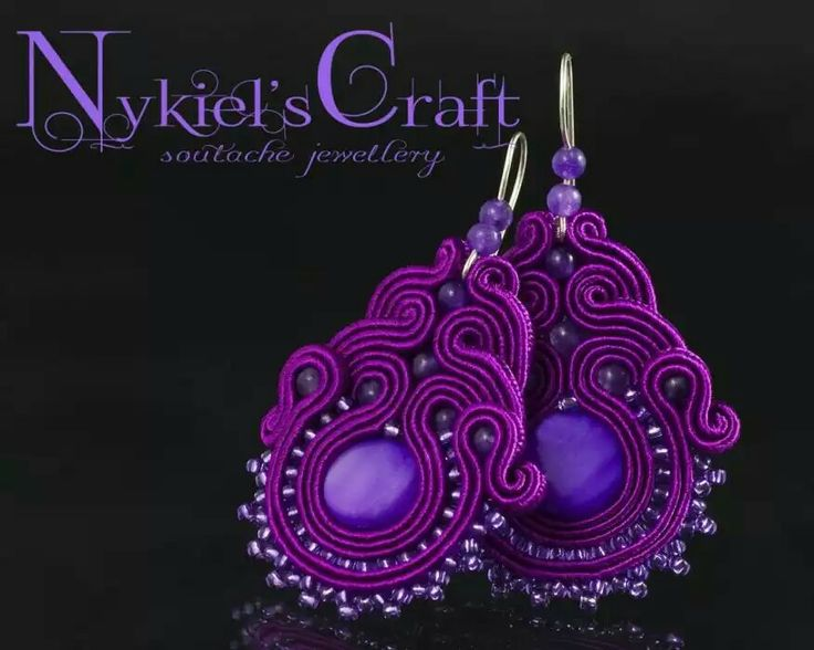 purple + soutache = nice!