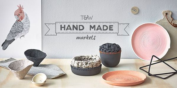 Temple and Webster handmade markets