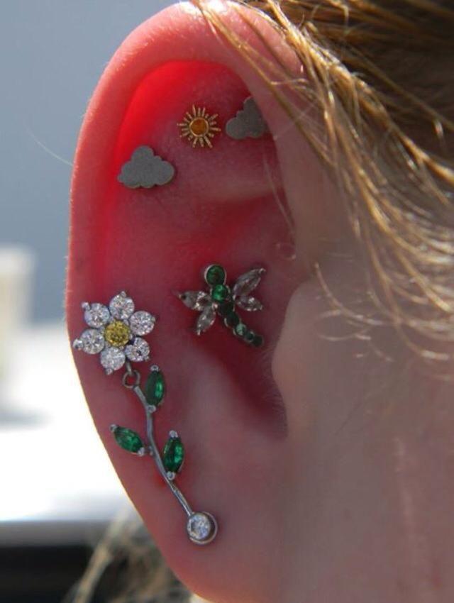 creative piercings