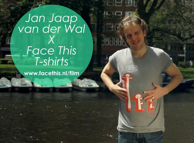 Jan-Jaap van der Wal in Face This tee