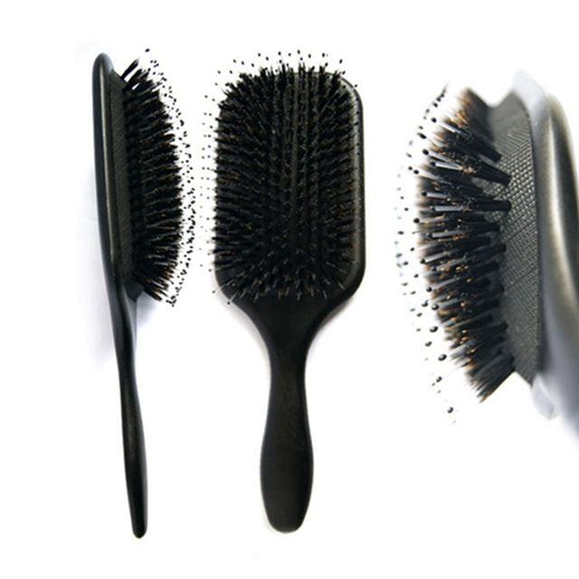 Source Small Order Accept Private Label Boar Bristle Brush, Boar Hair Brush, Boar Bristle Hair Brush on m.alibaba.com
