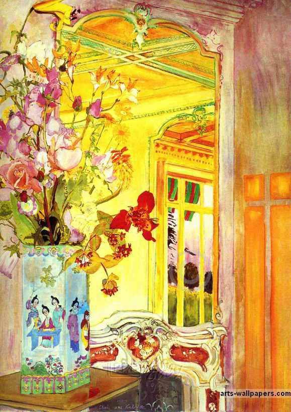 ❀ Blooming Brushwork ❀ - garden and still life flower paintings - Christiane Kubrick