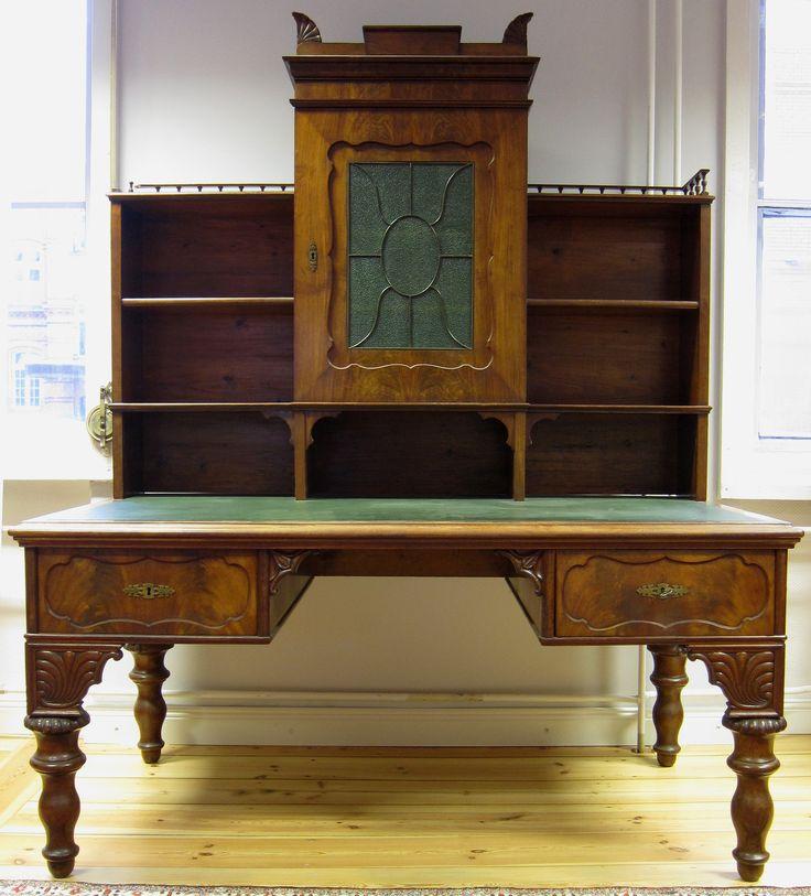 42 best Antike Schreibtische images on Pinterest Antique desk - wohnzimmermobel weis