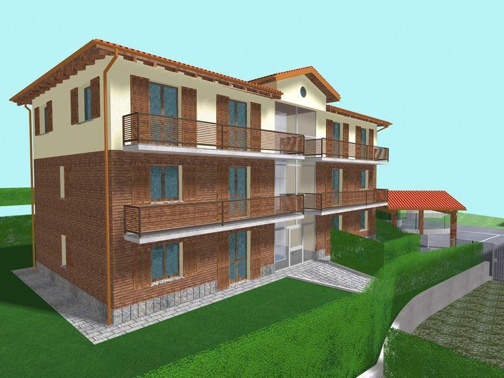 L'edificio residenziale dove stiamo costruendo gli appartamenti in vendita