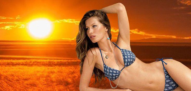 Velká rakovinová lež: Slunce smrtící melanomy nezpůsobuje, nýbrž léčí. Co mají společného Gisele Bundchen a slavný dermatolog? Nebojí se slunce, ale chemie. Tajná ingredience zdravého opálení na prázdninách
