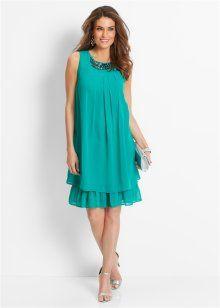 Платье с аппликацией, bpc selection premium, изумрудный