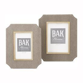 Imax Worldwide 2-Pack Beth Kushnick Neutral Picture Frame 65471-2