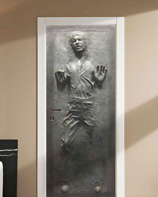 Han Solo In Carbonite Door Decal