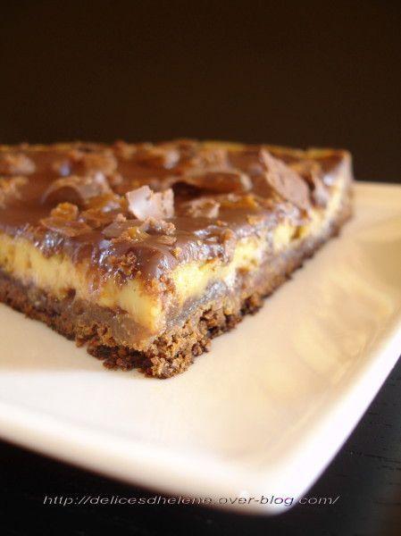 Est-ce que tout le monde ici connaît la très célèbre tarte aux Daims d'Ikéa? Si ce n'est pas le cas, je vous invite vivement à remédier à cette énorme lacune car vous ne savez pas ce que vous manquez. Bref, cette tarte est une petite merveille. Quand...