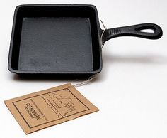 Food never tasted better with this Square Pre seasoned skillet. Make all your meals even more flavorful with this Old Mountain Cast Iron Preseasoned Square Skillet