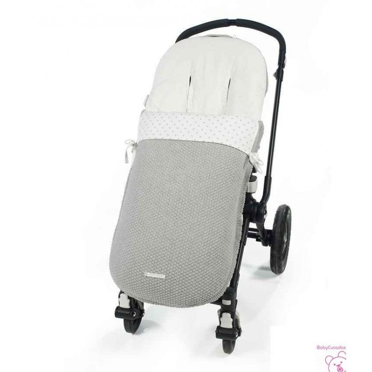 Saco para silla de paseo de invierno de la colección Normandie de  pasito a pasito.