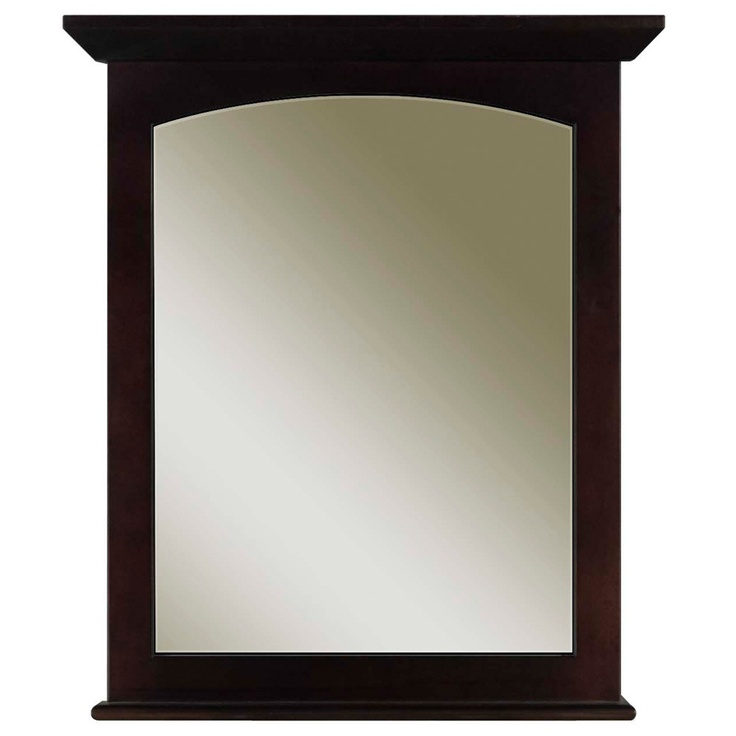 bathroom mirrors overstock water creation espresso bathroom vanity mirror overstock 11157