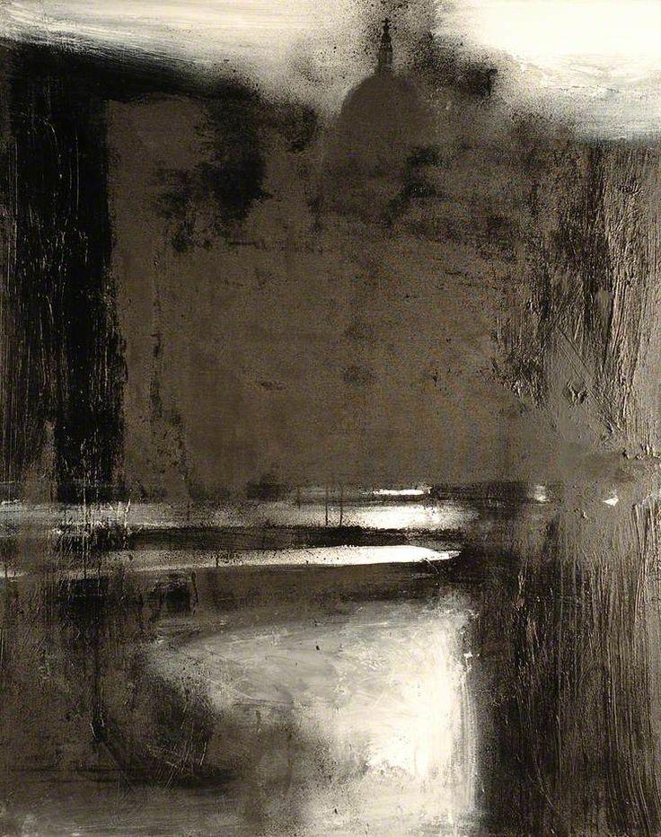John Virtue, Landscape 715 | Oil on canvas