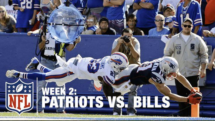 Tom Brady Finds Julian Edelman for a 22-Yard TD | Patriots vs. Bills | NFL