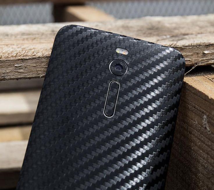 Folii Carbon 3M Black ASUS ZenFone 2