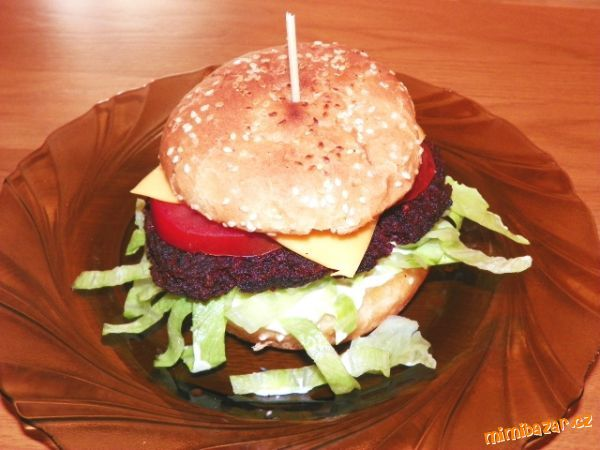 Beet root burger