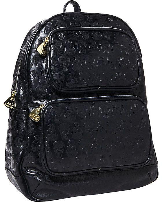 PRINCESS SKULLY BACKPACK BLACK accessories handbags day no sub class