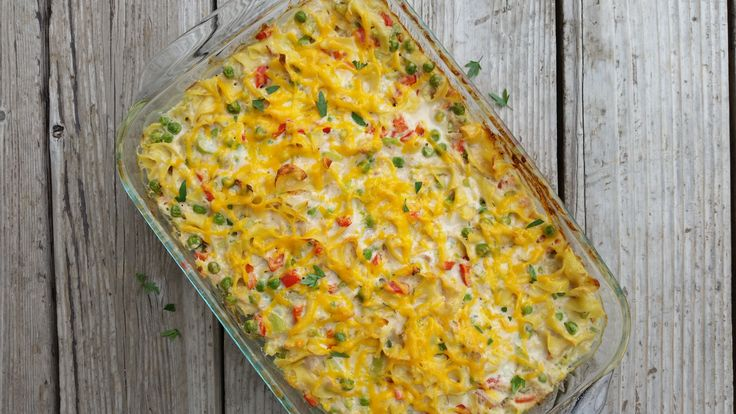 Hearty Tuna Bake Reminds me of my childhood with some added nutrition for my adulthood...