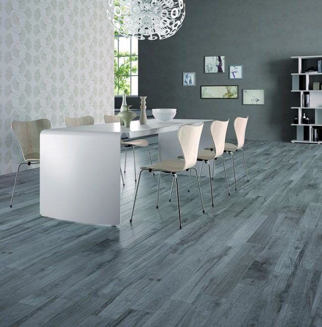 Weathered Ceramic Tile Floor | Ceramic Tile That Looks Like Weathered Wood interior flooring dining ...