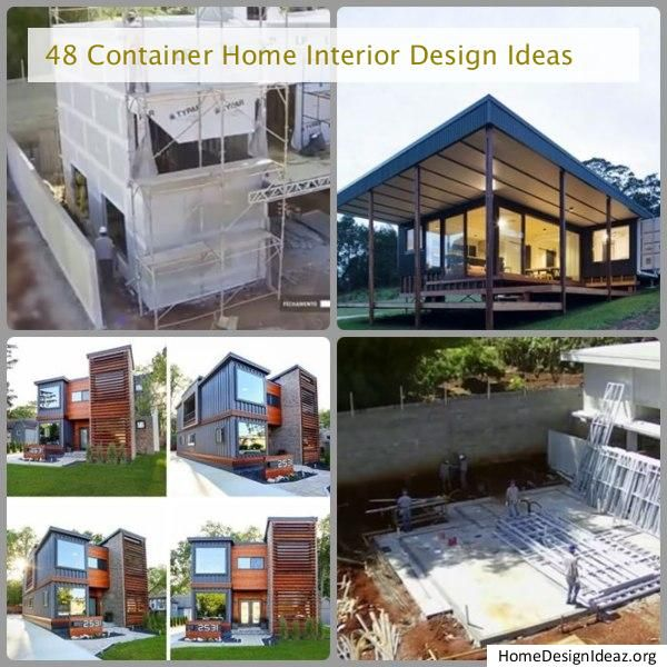 48 Container Home Interior Design Ideas In 2020 Container House