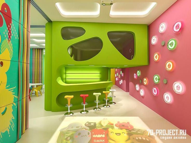 игровая комната дизайн