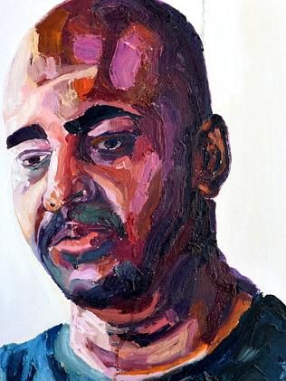 Self portrait ... Bali Nine death row inmate Myuran Sukumaran.