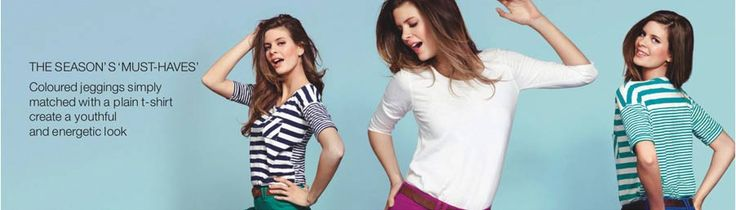 Women's T-Shirts - Buy 1 Get 1 Half Price on #marksNspencer Buy any women's #tshirt and get another one at half price only at Marks and Spencer.  Hurry Up!! Grab the deal from here -  http://www.couponcodes.co.uk/marks-and-spencer-discount-codes?utm_source=pinterest&utm_medium=marketing&utm_campaign=marks%20%26%20Spencer