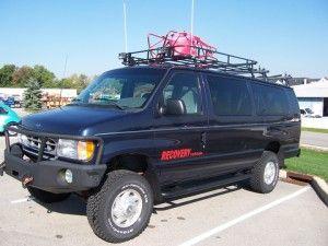 4 215 4 Ford E350 Van Bug Out Vehicles Prepper Vans 4x4
