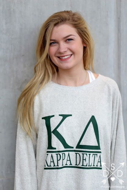 Kappa Delta Cozy Fleece  L by ShopDuoGreek on Etsy