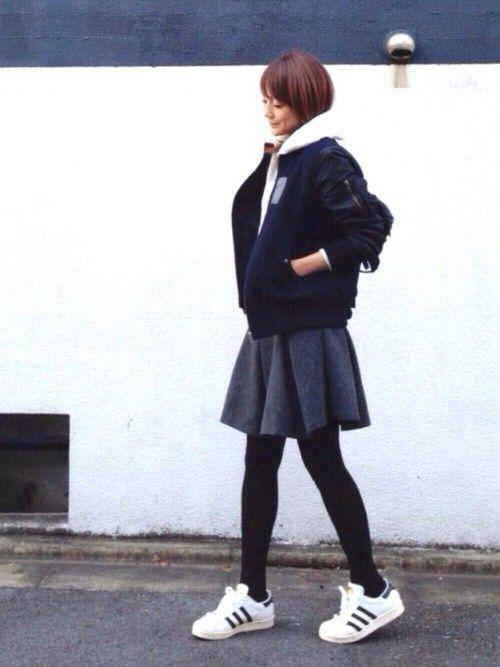 LUMIEさんの(adidas originals|アディダスオリジナルス)を使ったコーディネート