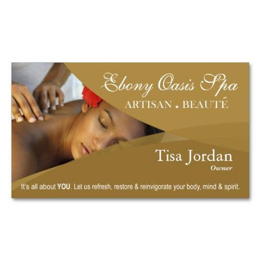 231 best spa business cards images on pinterest spa business cards beaut salon day spa massage therapy aromatherapy business card templates accmission Choice Image