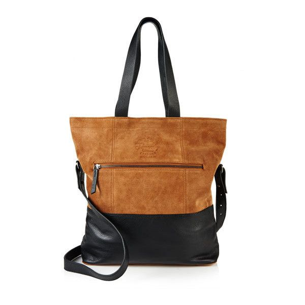Superdry Anneka Block Tote Bag featuring polyvore, women's fashion, bags, handbags, tote bags, black, handbags tote bags, tote handbags, colorblock tote, color block handbags and tote hand bags