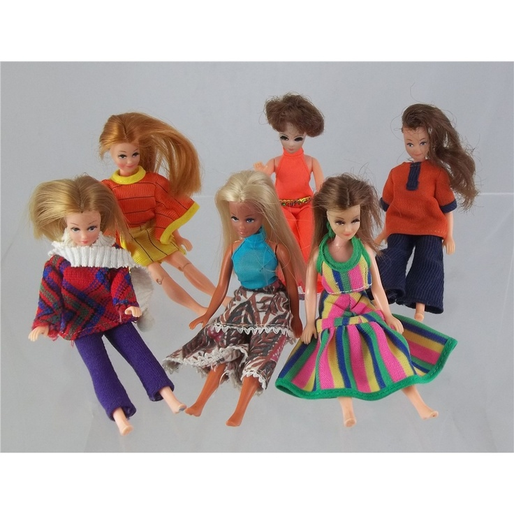 Vintage Palitoy 1970s Pippa Doll collection from the Oxfam online Shop| Oxfam GB | Shop I remember I had four of these inherited from my cousin-they even came in their own purple carrying case