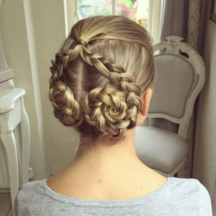dutch swirls sweethearts hair