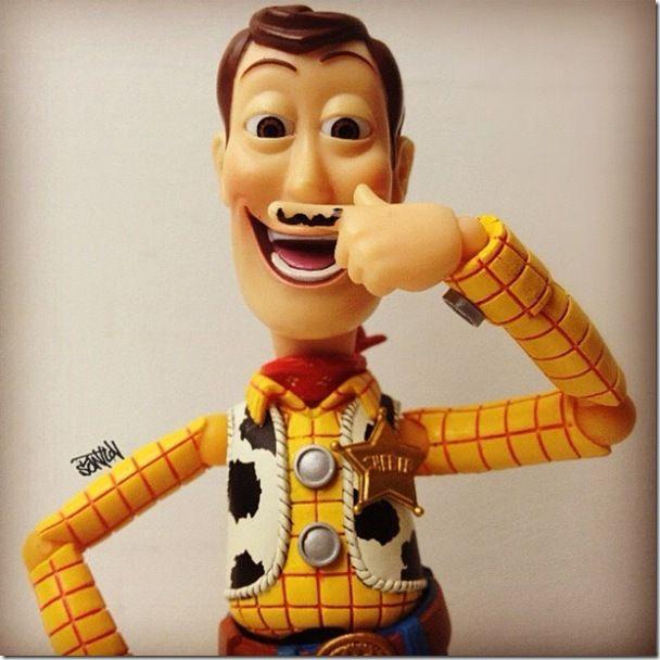 Toy Story   Woody no Instagram