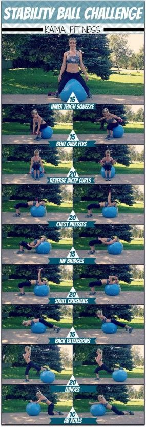 Stability Ball Challenge Workout | Posted By: AdvancedWeightLossTips.com