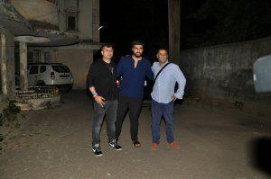 *Arjun and Aditya Roy Kapoor snapped at Mohit Suri's House* 