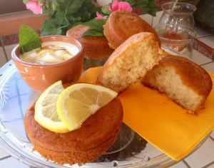 Mini Cake al Limone Senza Burro