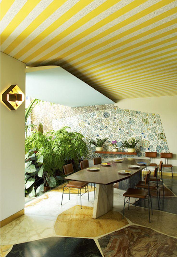 Una idea de como contrastar colores brillantes y tonos tierra. #Calux #Tendencia #Iluminación #Innovación #Belleza #Espacios #Diseño #interiores #Decoración  #Contemporáneo #Idea #Frases  #Inspiración #Innovation #Trend #Beauty #Space #Design #Interior #Decoration #Contemporary #Follow #Inspiration #Light #Arquitectura #Architecture #Luz #myhouseidea #interiordesign #interior #interiors #house #home #design #architecture  #decor #homedecor #luxury #decor #love #follow #archilovers #casa…