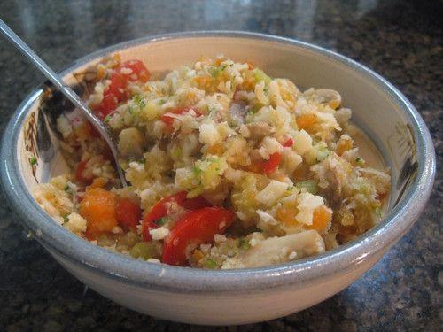How to Make #Vegan #Cauliflower #Rice / Cauliflower #Couscous - #Recipe & #Video https://www.youtube.com/watch?v=xeGf6nsF_PY