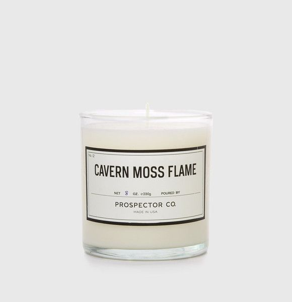 Prospector Co Cavern Moss Candle