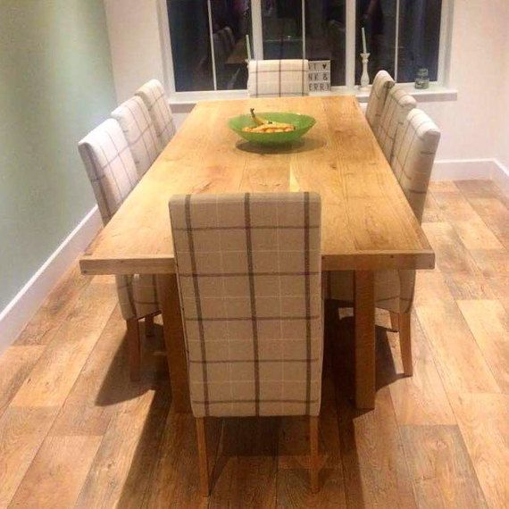 large dining table oak dining table wood dining table