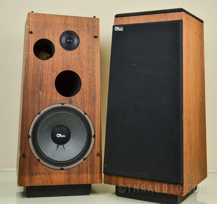 speakers vintage. ohm speakers - model i vintage