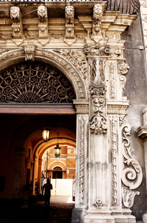 90 best catania italy images on pinterest sicily italy for Baroque architecture in italy