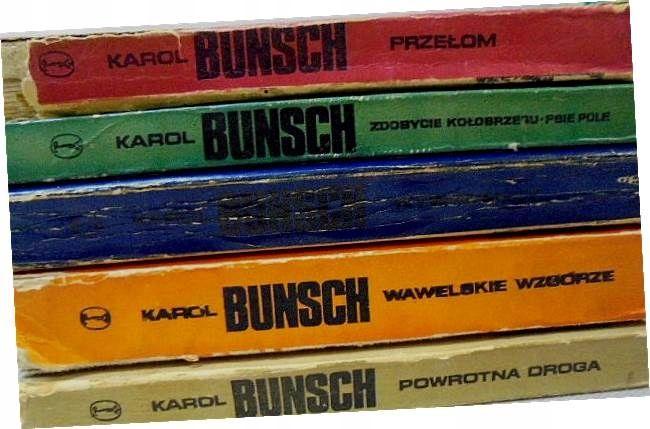 Karol Bunsch Zestaw 5 Powiesci 9415586629 Oficjalne Archiwum Allegro Book Cover Books Cover
