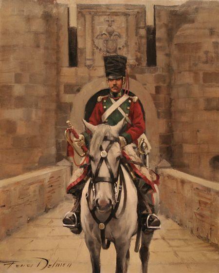 Voluntarios de España 1821 Ligeros 12º Trompeta