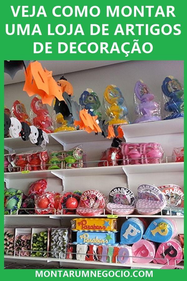 2a4f64a45fab Aprenda como montar uma loja de artigos de decoração para festas ...