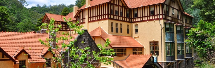 Accommodation at Jenolan caves, NSW