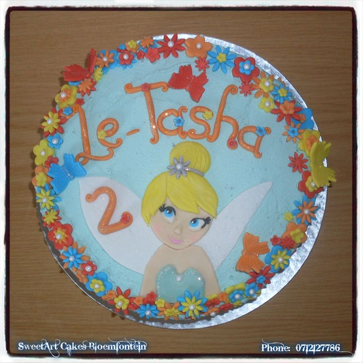 TINKERBELL CAKE For more info & orders, email Sweetartbfn@gmail.com or call 0712127786  Connect with us on Facebook: https://www.facebook.com/SweetArtCakesBfn