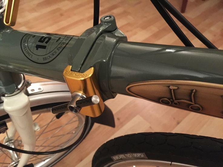 Brompton -42g Ultralight Weight Carbon-Titanium Clamp Levers